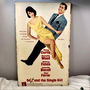 Other - 1964 Sex and the Single Girl movie poster